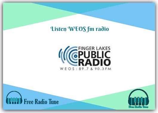WEOS fm radio