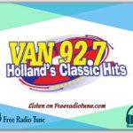 92.7 The Van Playlist