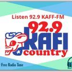 Listen 92.9 KAFF-FM