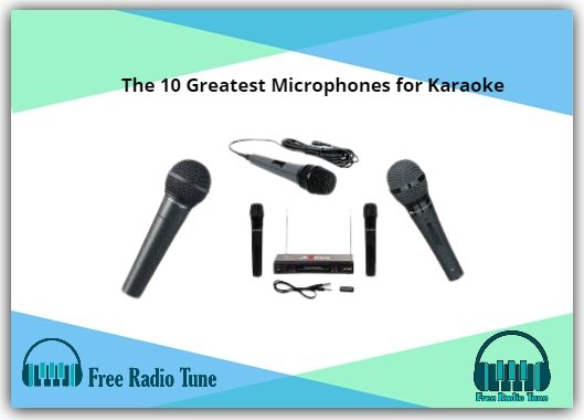 The 10 Greatest Microphones for Karaoke