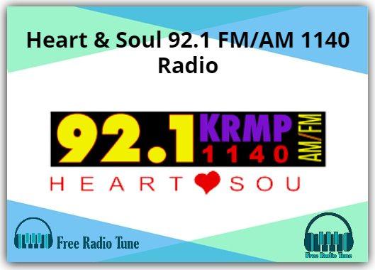 Heart & Soul 92.1 FM_AM 1140