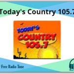 Today's Country 105.7 radio