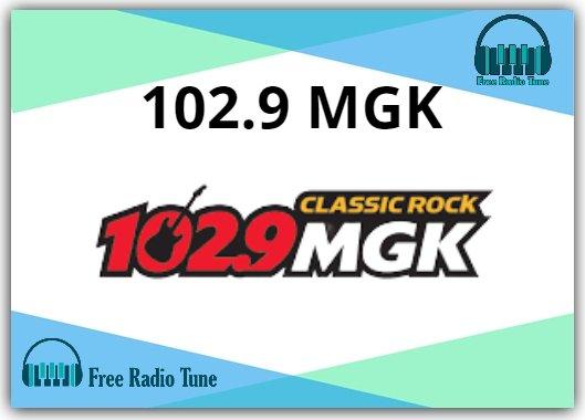 102.9 MGK radio