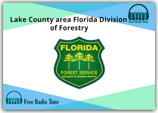 Lake County area Florida Division of Forestry Radio