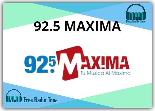 92.5 MAXIMA Online Radio
