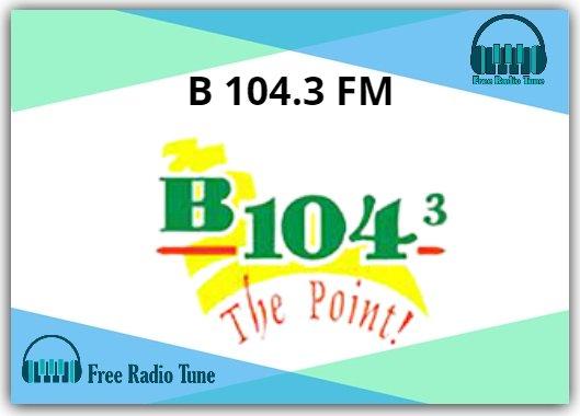 B 104.3 FM Online Radio