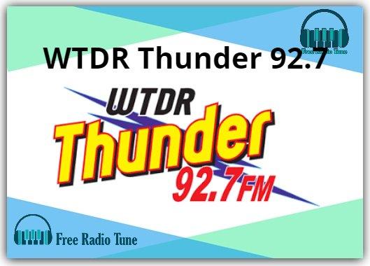 WTDR Thunder 92.7 Radio
