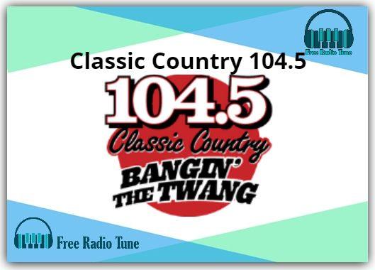 Classic Country 104.5 Radio