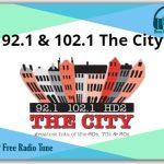 92.1 & 102.1 The City Online Radio