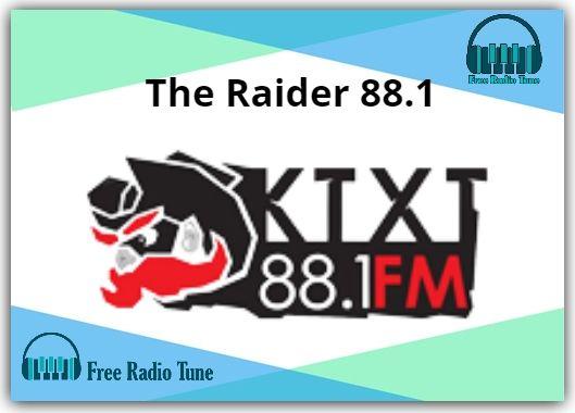 The Raider 88.1 Online Radio